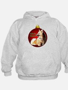 Icelandic Sheepdog christmas Hoodie
