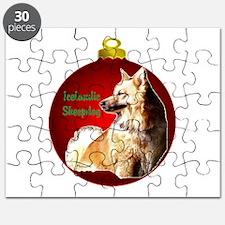 Icelandic Sheepdog christmas Puzzle