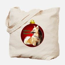 Icelandic Sheepdog christmas Tote Bag