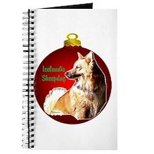 Icelandic Sheepdog christmas Journal