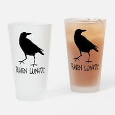 Raven Lunatic - Halloween Drinking Glass