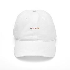 California Sun text Baseball Cap