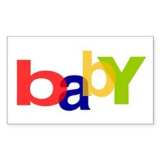 baby Rectangle Decal