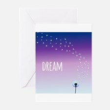 Dream Dandelion Greeting Cards
