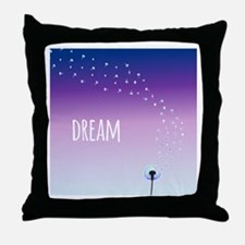Dream Dandelion Throw Pillow