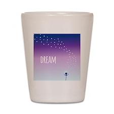 Dream Dandelion Shot Glass