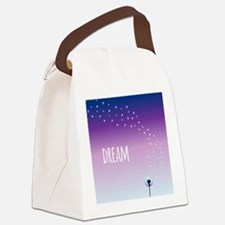 Dream Dandelion Canvas Lunch Bag