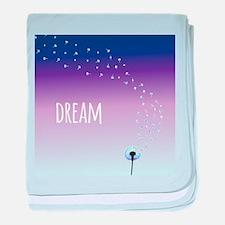 Dream Dandelion baby blanket