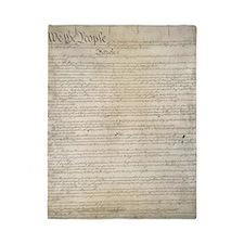 United States Constitution Twin Duvet