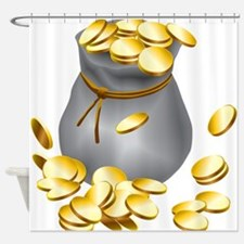 Bag of Gold Shower Curtain
