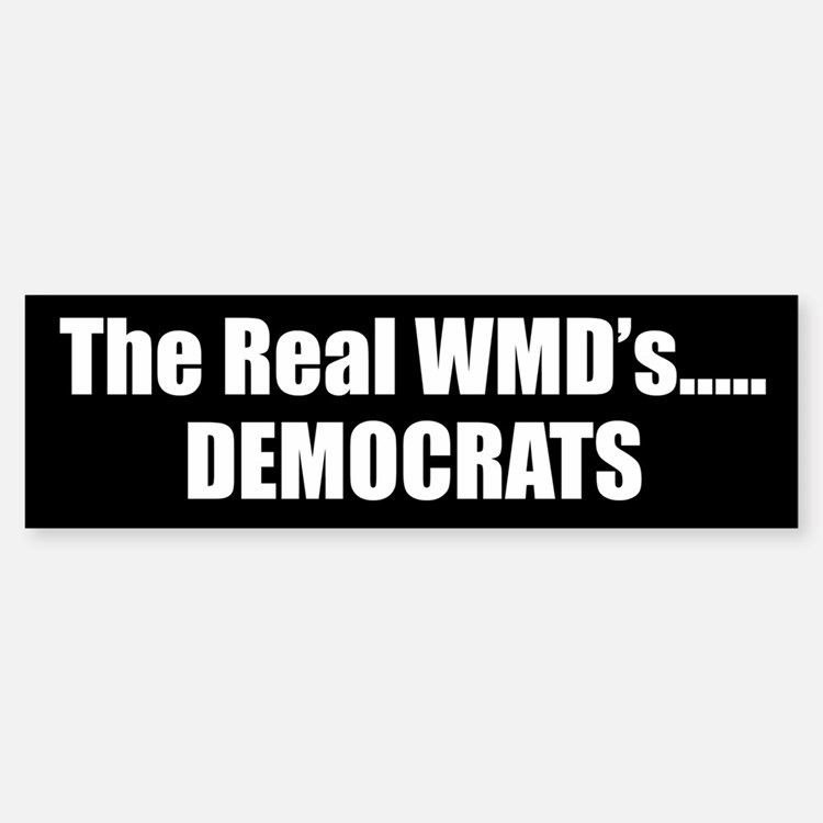 The Real WMD's Bumper Bumper Bumper Sticker