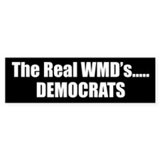 The Real WMD's Bumper Bumper Sticker