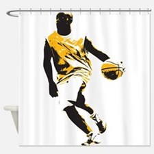 Basketball - Sports Shower Curtain