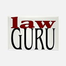 Law Guru Rectangle Magnet