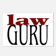 Law Guru Postcards (Package of 8)