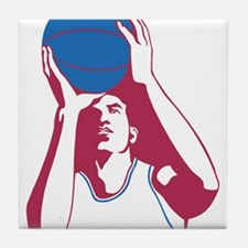 Basketball - Sports Tile Coaster