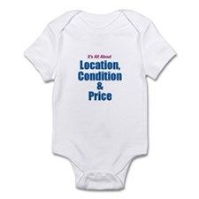 Location, Condition and Price Infant Bodysuit