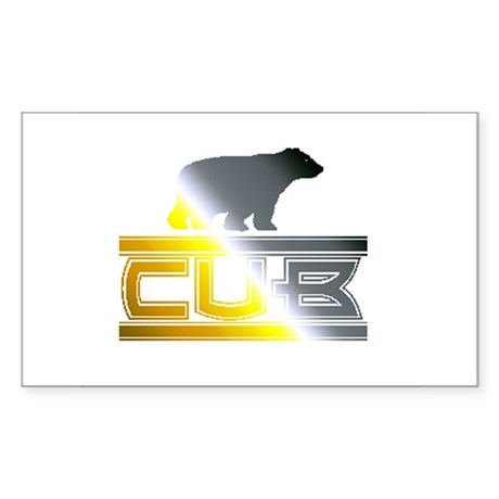 cub pride Rectangle Sticker