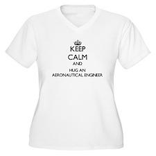 Keep Calm and Hug an Aeronautical Engineer Plus Si