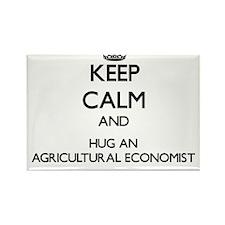 Keep Calm and Hug an Agricultural Economist Magnet