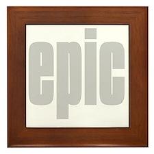epic Framed Tile