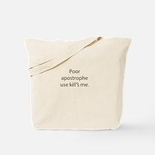 Cute Irony Tote Bag