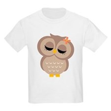Single Girl Owl T-Shirt