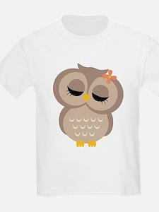 Single Girl Owl T-Shirt