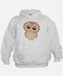 Single Girl Owl Hoodie