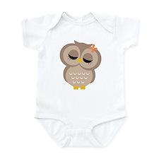 Single Girl Owl Onesie