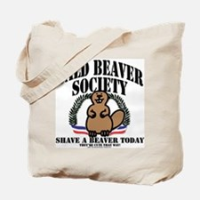 Bald Beaver Society Tote Bag