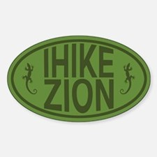 I Hike Zion Lizard - Green