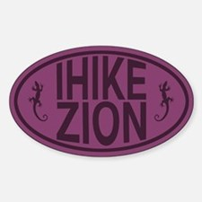 I Hike Zion Lizard - Purple