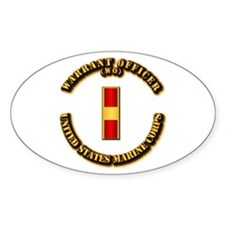 USMC - Warrant Officer - WO Decal