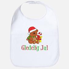 Gledelig Jul Child Bear Bib
