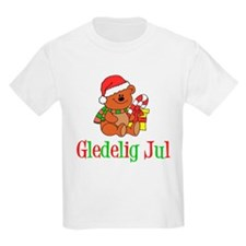 Gledelig Jul Child Bear T-Shirt