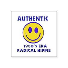 Authentic 1960'S Era Radical Hippie Sticker