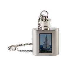You Can't Control the Wind, but You Flask Necklace