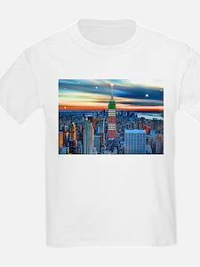 Empire Bldg NY Skyline T-Shirt