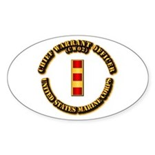USMC - Chief Warrant Officer - CW2 Decal