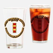 USMC - Chief Warrant Officer - CW2 Drinking Glass