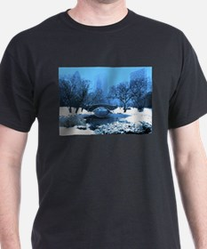 central-park-new-york-winter1 copy T-Shirt