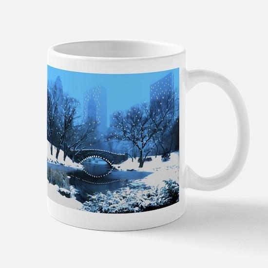 central-park-new-york-winter1 copy Mugs