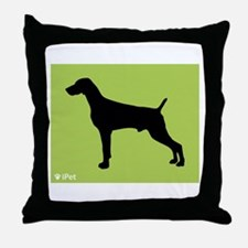 Weimaraner iPet Throw Pillow