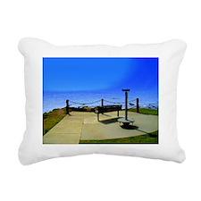 The 'Waiting Place' Rectangular Canvas Pillow