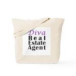 Diva Real estate Agent Tote Bag