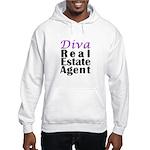 Diva Real estate Agent Hooded Sweatshirt