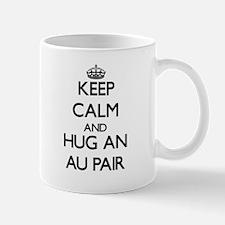 Keep Calm and Hug an Au Pair Mugs