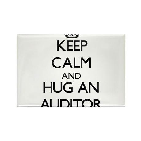 Keep Calm and Hug an Auditor Magnets