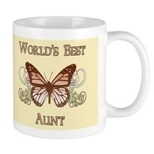 World's Best Aunt (Butterfly) Mug